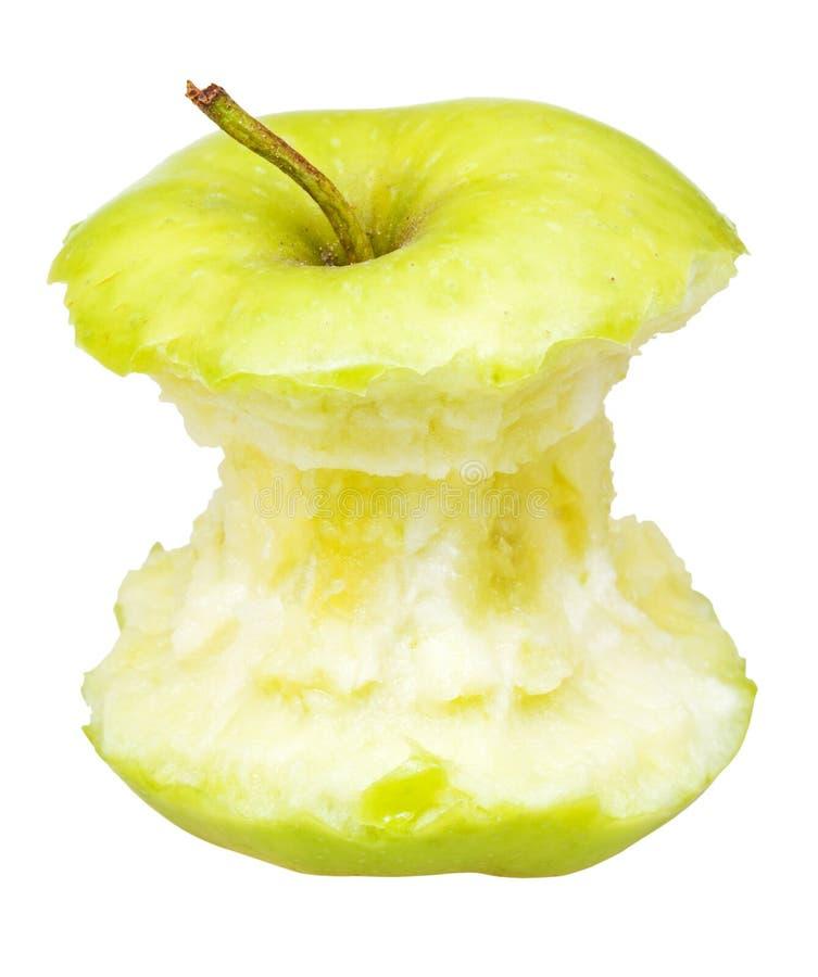 Babcia kowala jabłczany sedno obrazy stock