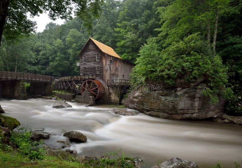Babcock парк штата, Западная Вирджиния стоковая фотография