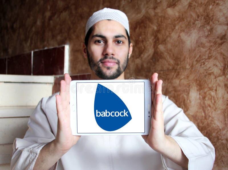 Babcock Firmenlogo lizenzfreies stockfoto