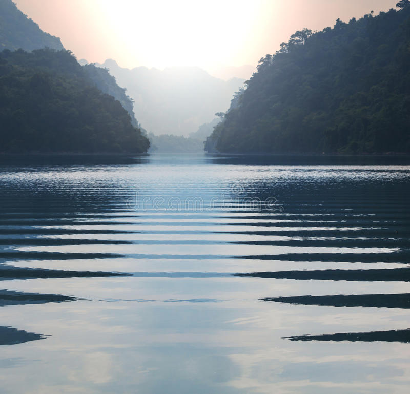 BaBe湖 图库摄影