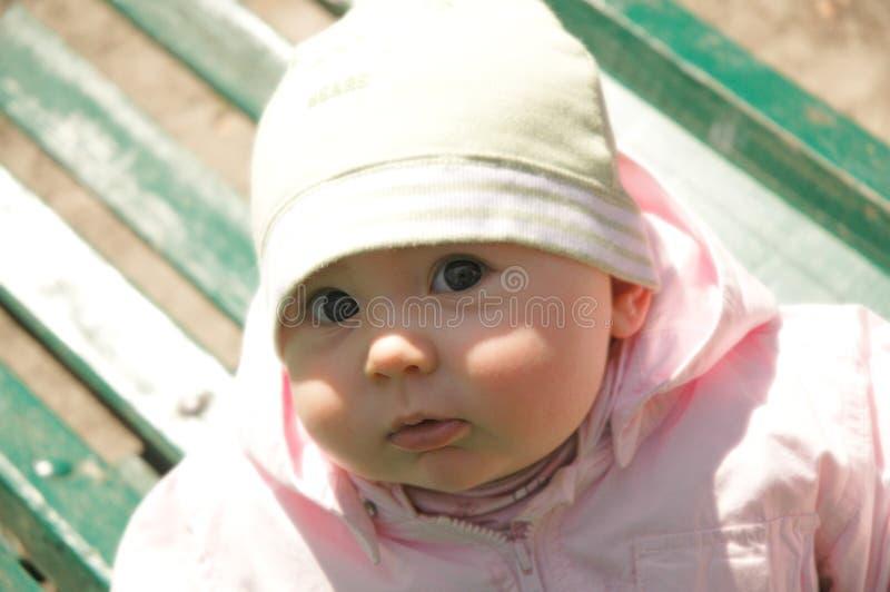 Babe Little Royaltyfria Bilder