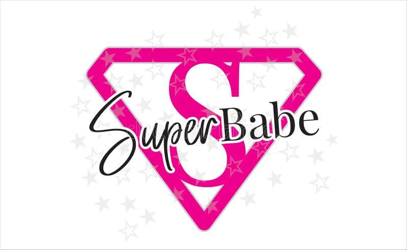 Babe Vector eccellente, esprimente progettazione, iscrizione, progettazione della maglietta, simbolo eccellente di progettazione  royalty illustrazione gratis
