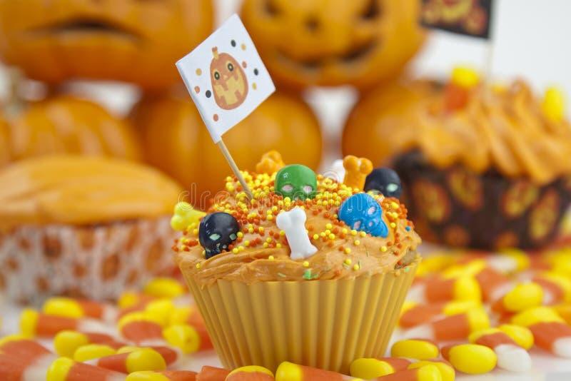 babeczka Halloween obrazy stock
