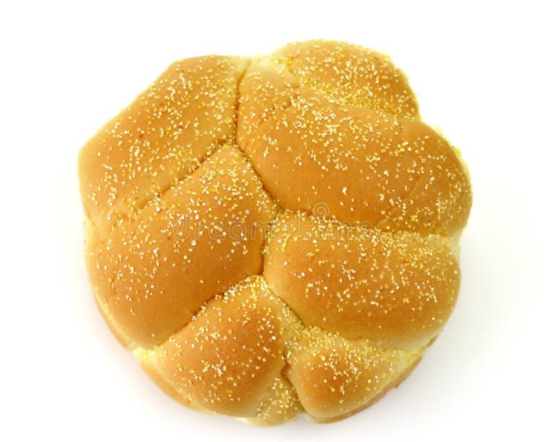 babeczki hamburgeru odgórny widok fotografia royalty free