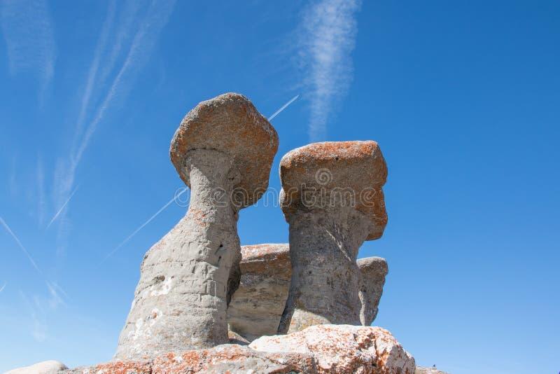 Babele en montagnes de Bucegi photos libres de droits