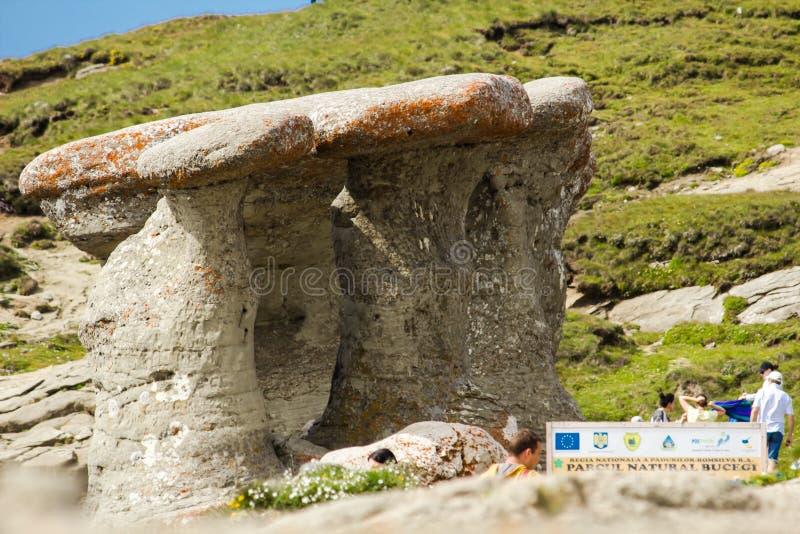 Babele-Naturdenkmal stockbild