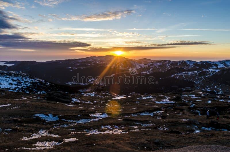 Babele på solnedgången fotografering för bildbyråer