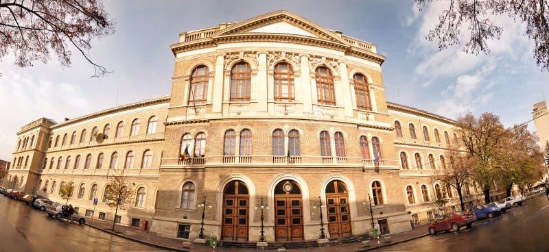 Babes-Bolyai University, Cluj, Romania stock images
