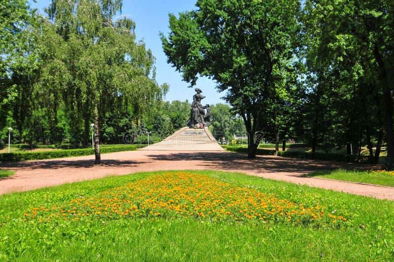 Babi Yar zabytek w Kijów fotografia stock