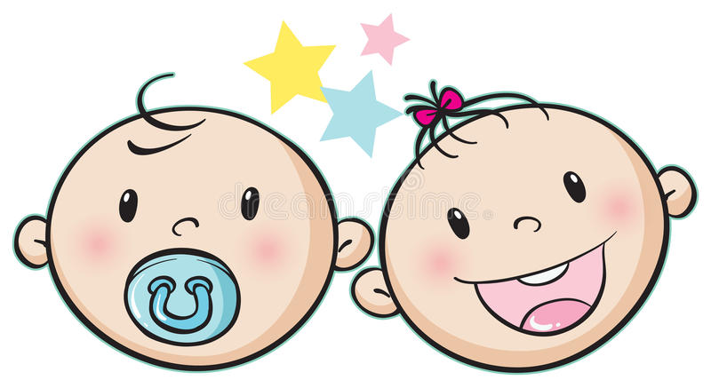Babies stock illustration