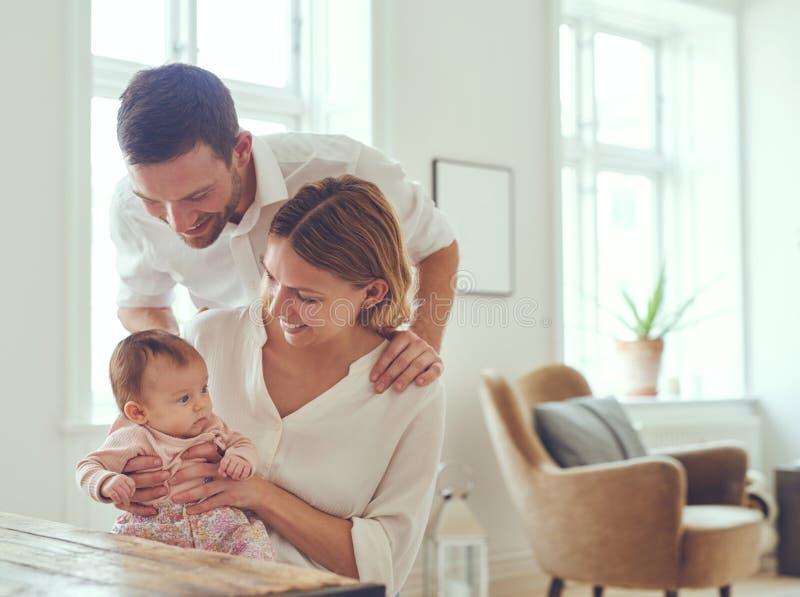 Babies are little armfuls of joy stock photos