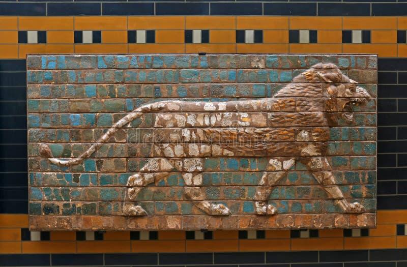 Babiloński lew zdjęcie royalty free