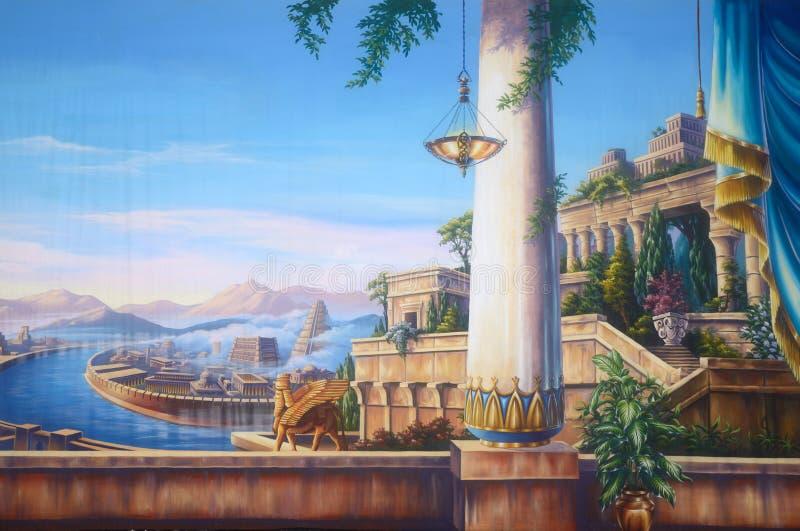 Babilonia antica illustrazione vettoriale