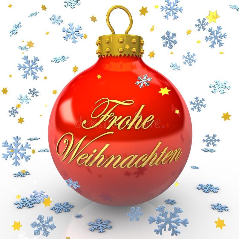 Babiole allemande de Noël illustration stock