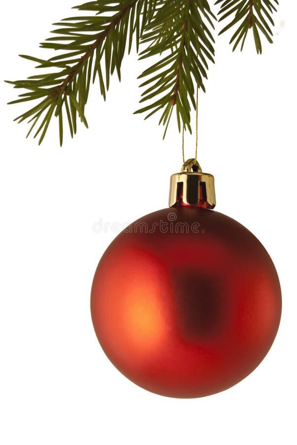 Babiole de décoration d'arbre de Noël image libre de droits