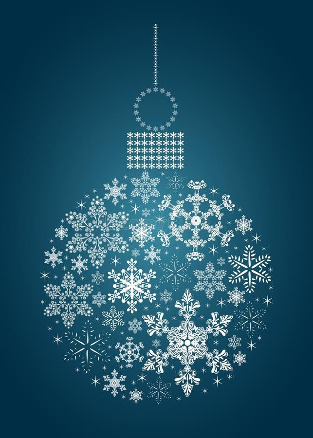 Babiole de flocon de neige illustration libre de droits
