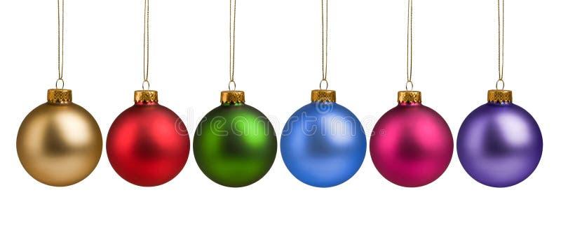 Babioles colorées de Noël photo libre de droits