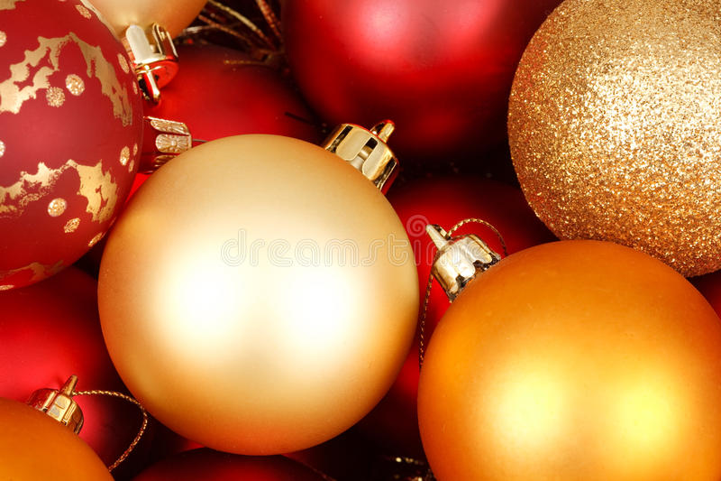 Babioles de Noël image libre de droits