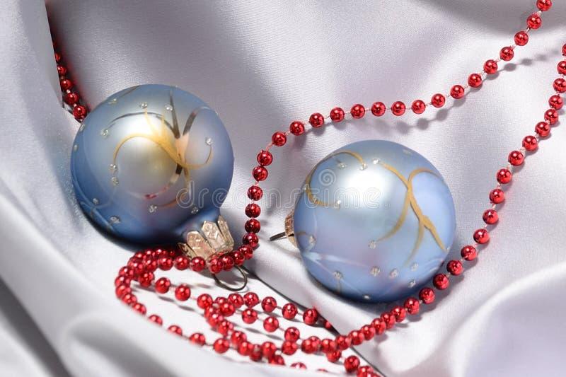 Babioles et programmes de Noël images libres de droits
