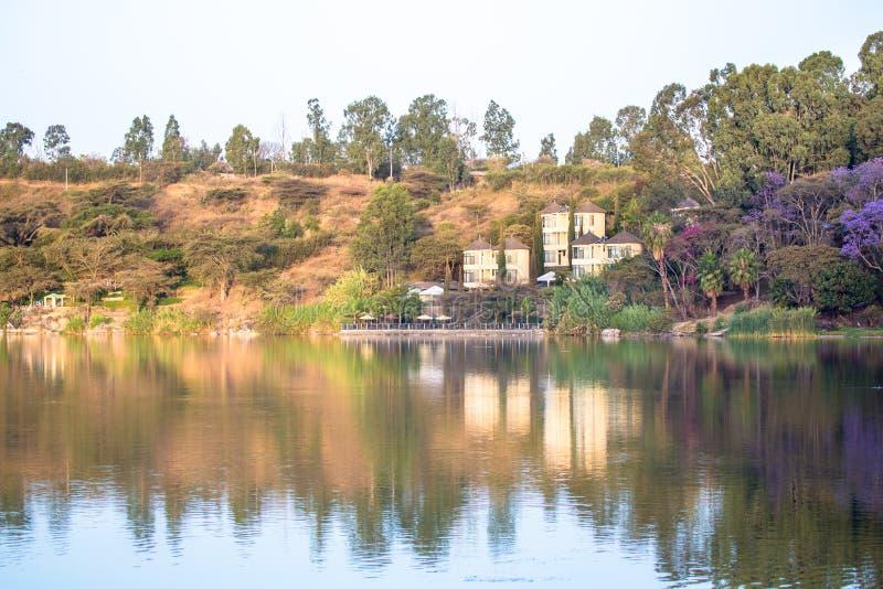 Babogaya湖 库存图片