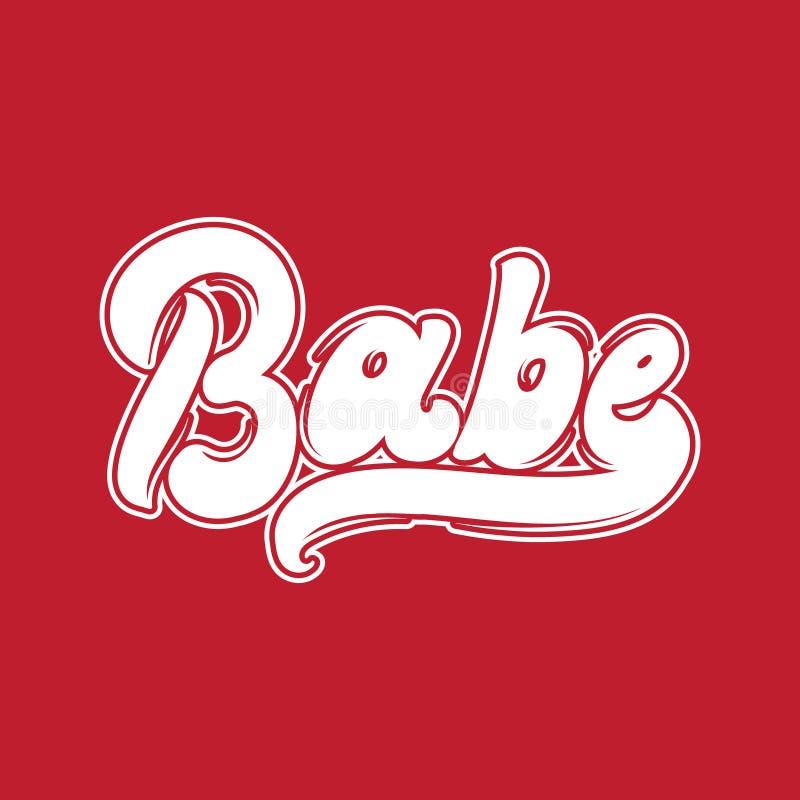 baboon Διανυσματική χειρόγραφη εγγραφή διανυσματική απεικόνιση