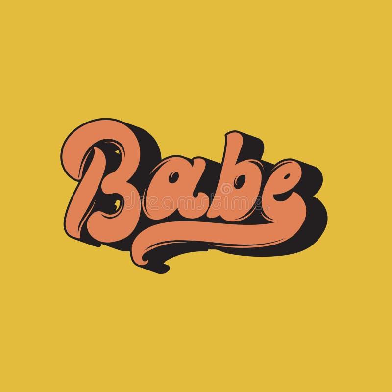 baboon Διανυσματική χειρόγραφη εγγραφή απεικόνιση αποθεμάτων