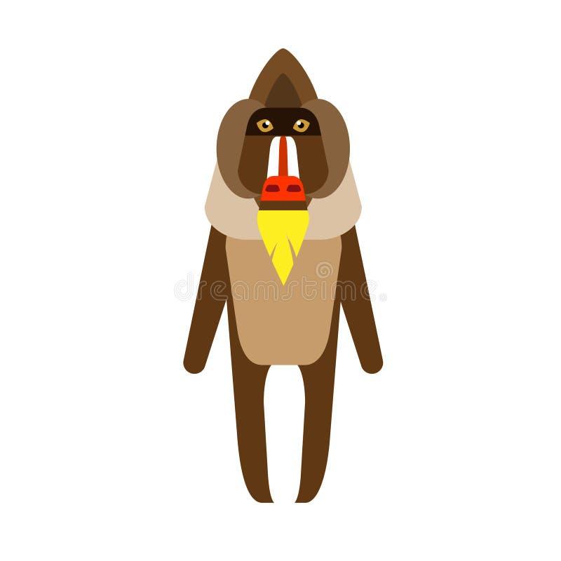 Baboon διανυσματική απεικόνιση