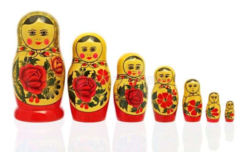 Babushka Puppen lizenzfreie stockfotografie