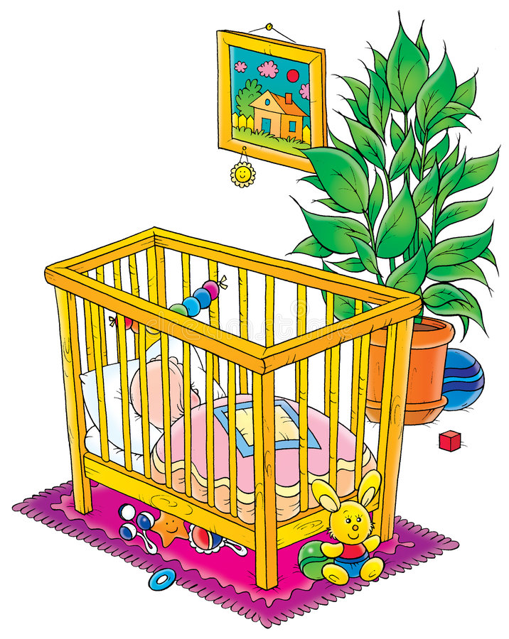 Download Baby 029 stock illustration. Image of fairy, holiday, toys - 199236