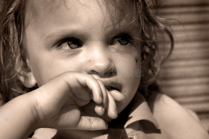 Download Baby stock image. Image of sepia, adorable, closeup, playing - 1412555