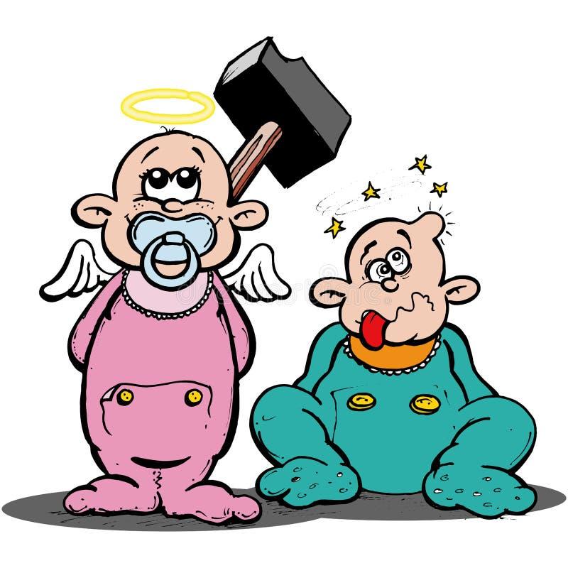 Baby royalty free illustration