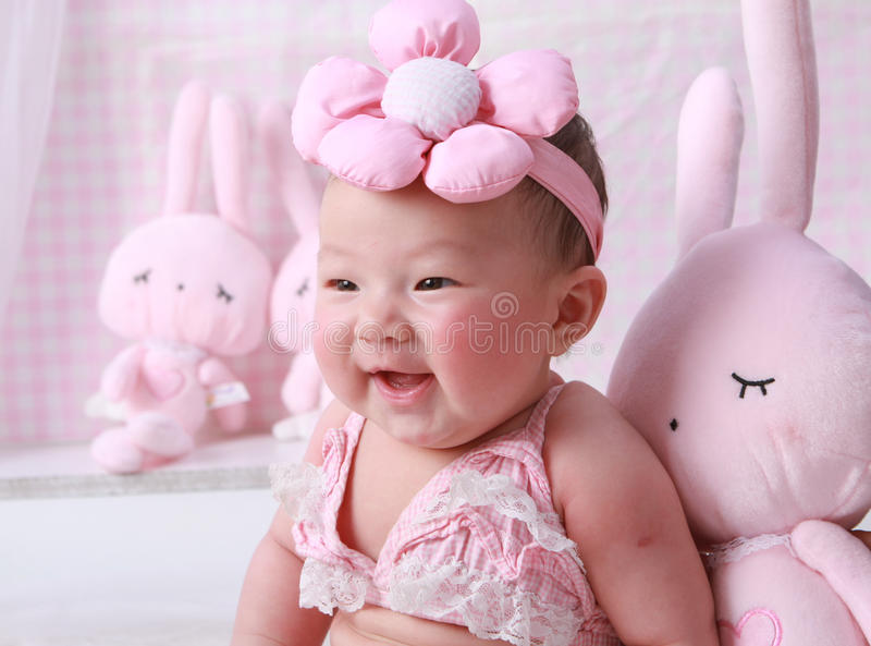 Download Baby stock image. Image of cherubic, nursing, happy, lovely - 18294329