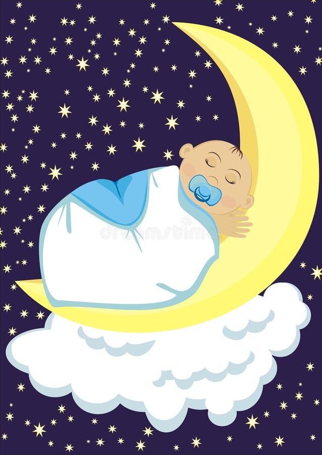 Download Baby stock illustration. Image of bedtime, dream, sleep - 22566448