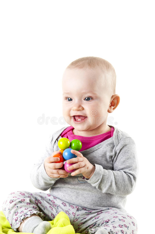 Download Baby stock photo. Image of beautiful, funny, happy, innocence - 24513712