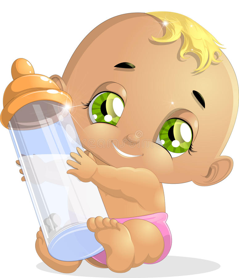 Baby stock illustratie