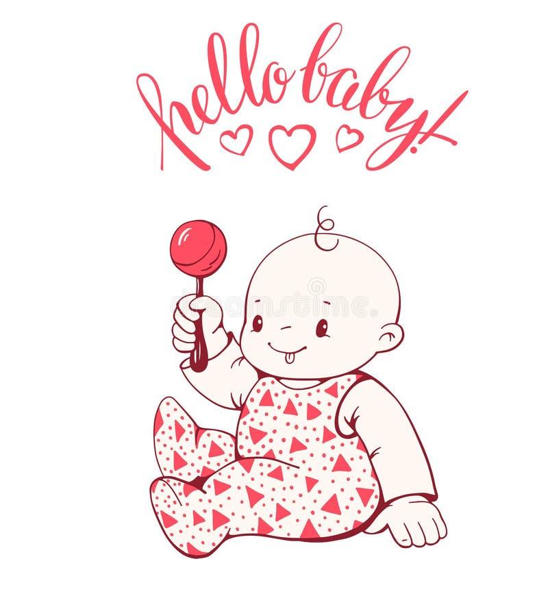 Download Baby vektor abbildung. Illustration von froh, abbildung - 90227962