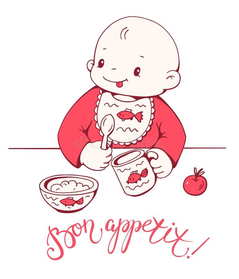 Download Baby vektor abbildung. Illustration von freude, schätzchen - 90230443