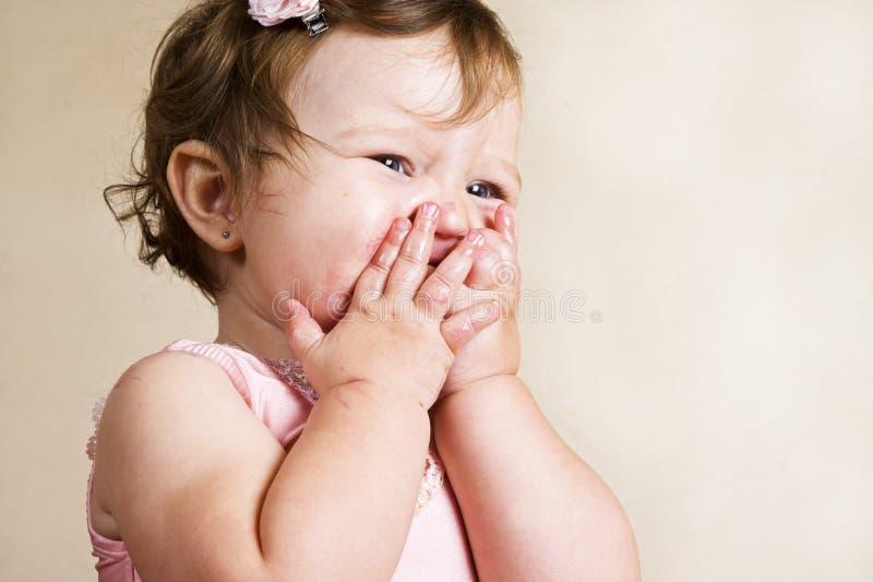 Download Baby stockbild. Bild von klebrig, kaukasisch, pink, brunette - 9088567