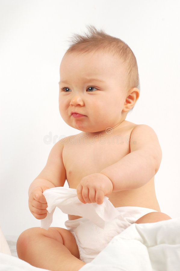 Free Baby After Bath 15 Stock Photography - 3743582