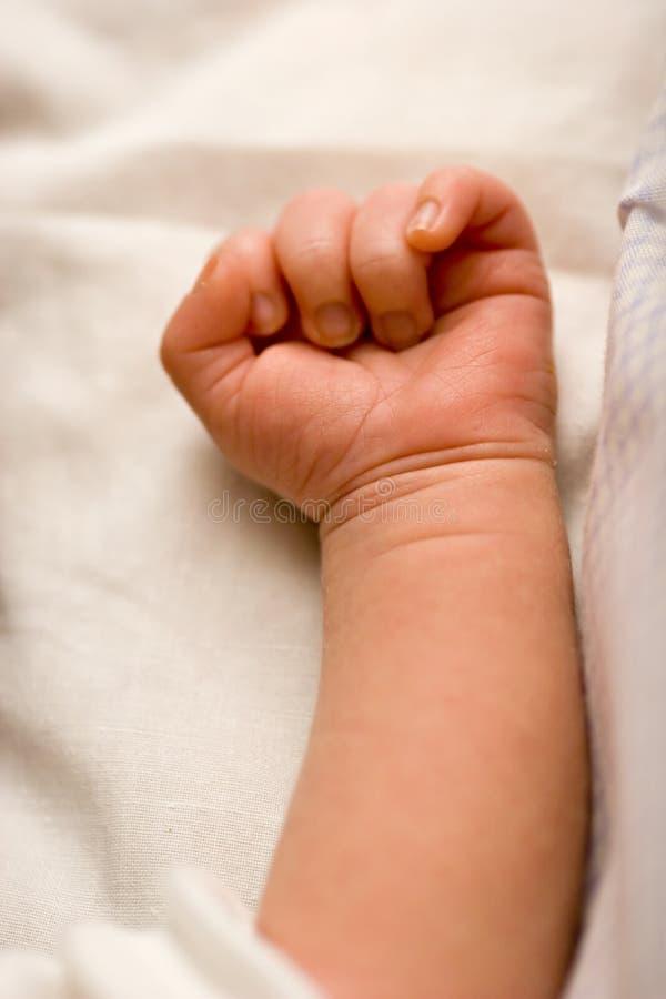 Baby Arm Stock Photo