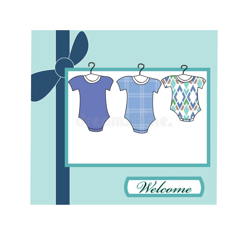 Download Baby arrival stock vector. Illustration of congratulate - 10263708