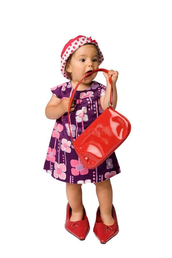 Baby-Art und Weise stockfotografie