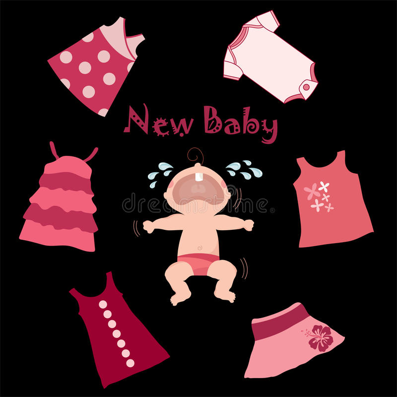 Baby and baby clothes