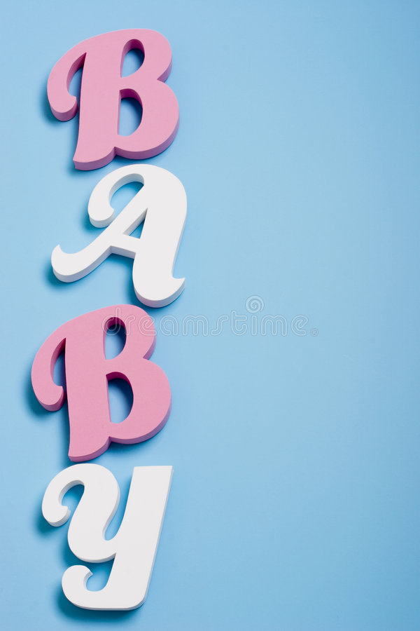 Download Baby background stock image. Image of birth, blue, letters - 2030729