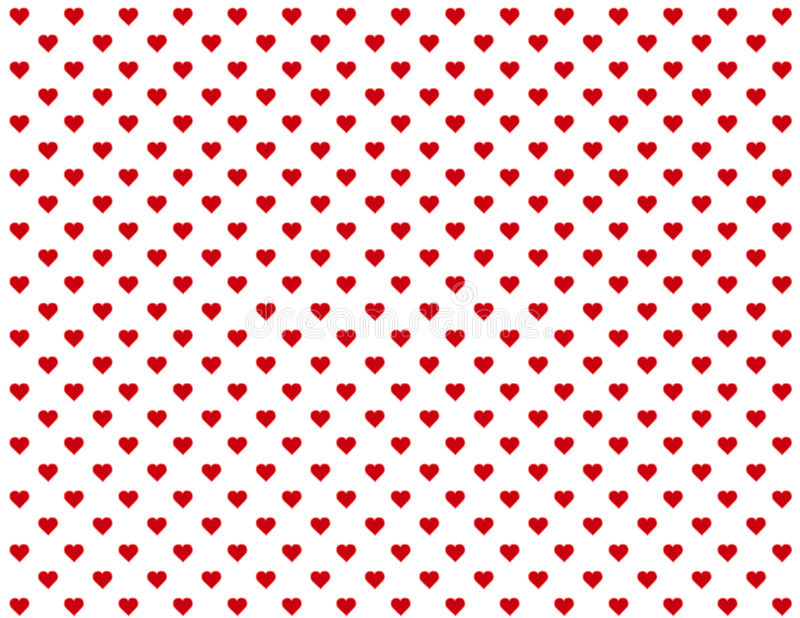 baby background hearts red seamless иллюстрация штока