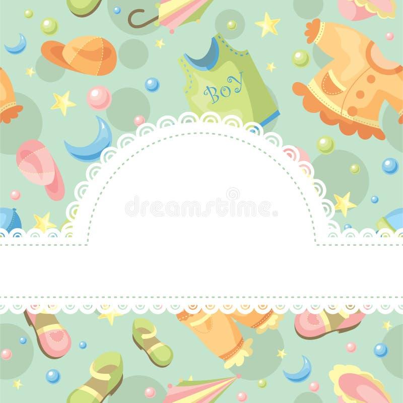 Download Baby Background Illustration Stock Photo - Image: 18194860