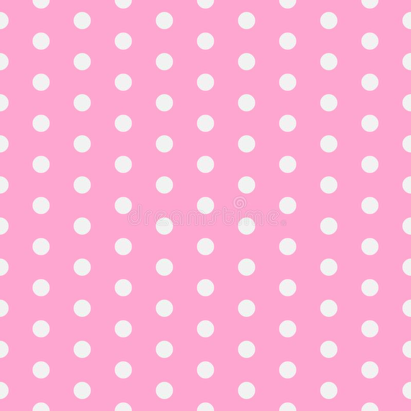 Baby background. Polka dot pattern. Vector illustration with small circles. Dotted background. EPS 10. Baby background. Polka dot pattern. Vector illustration stock illustration