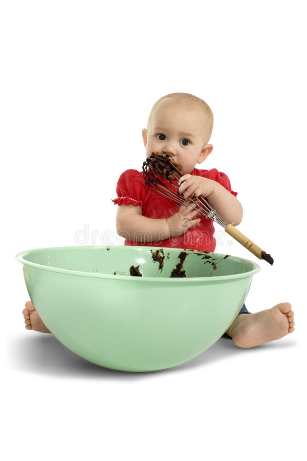 Baby Baking stock photography