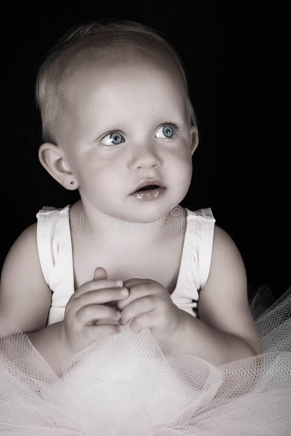 Baby Ballerina royalty free stock images