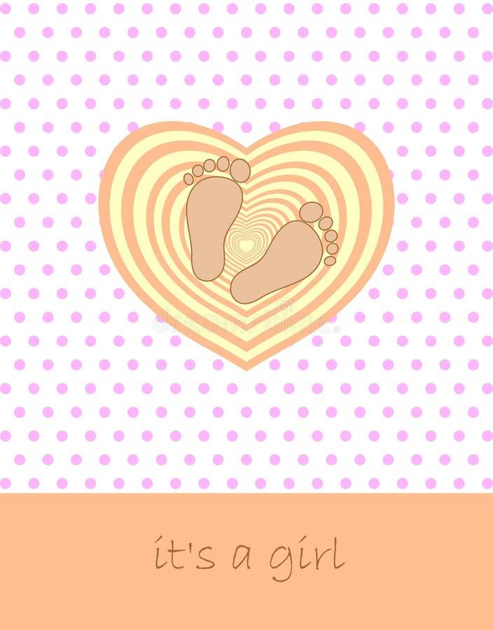 Download Baby banner stock vector. Image of newborn, design, dearness - 23320292